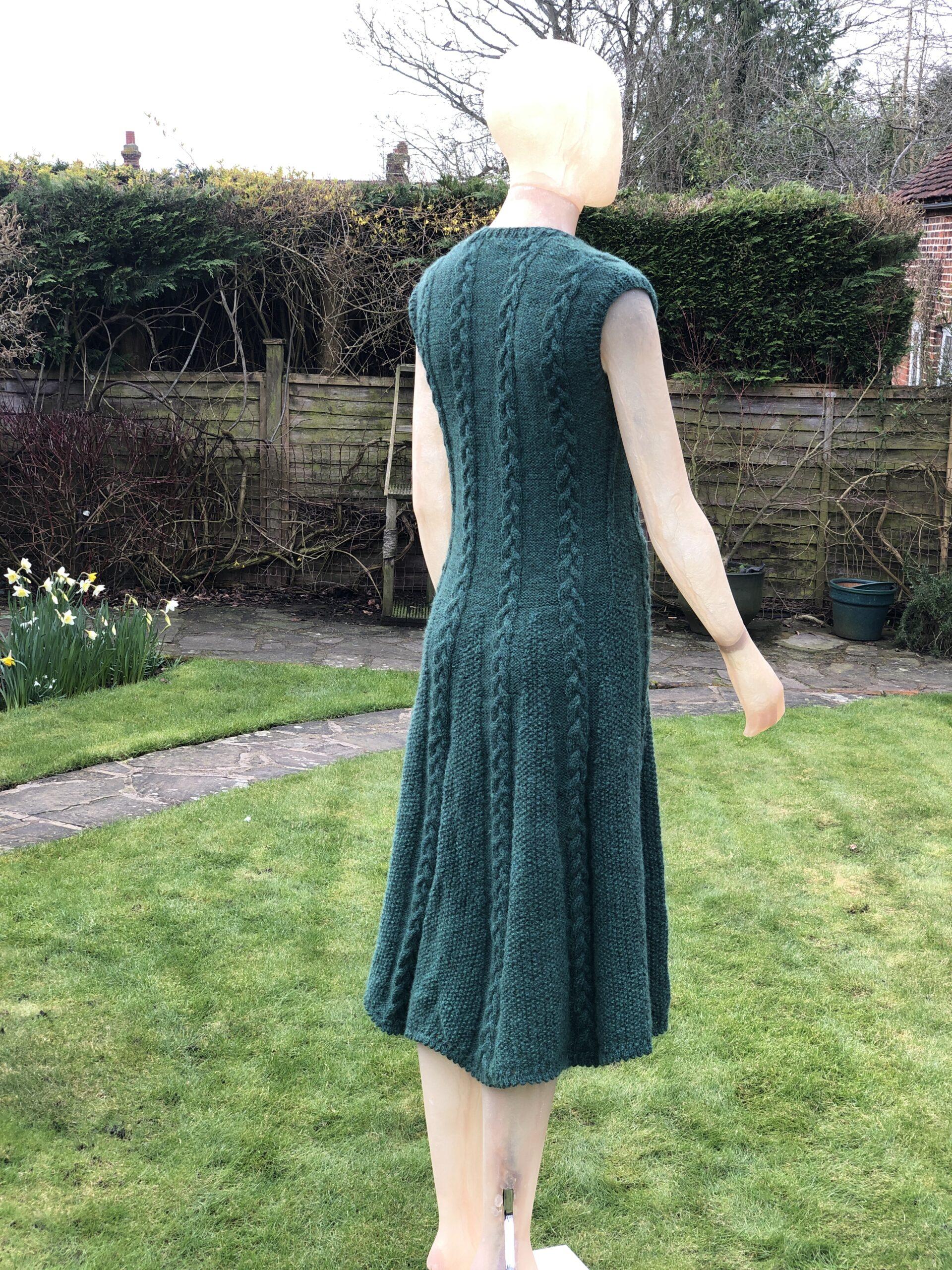 100% alpaca dress